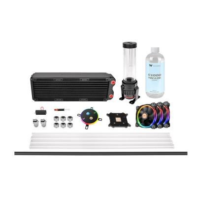 Thermaltake Pacific M360 D5 Hard Tube Water Cooling Kit Ventole
