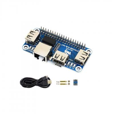 IBest Waveshare Ethernet USB HUB Hat for Raspberry Pi 3 B+ 3 B 2 B Zero Zero W Zero WH Expansion Board