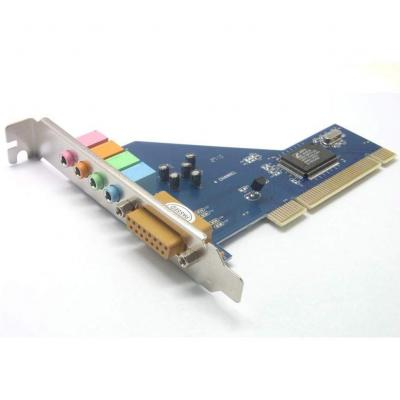 Sienoc Scheda audio PCI 6 canali audio surround 5.1 Stereo